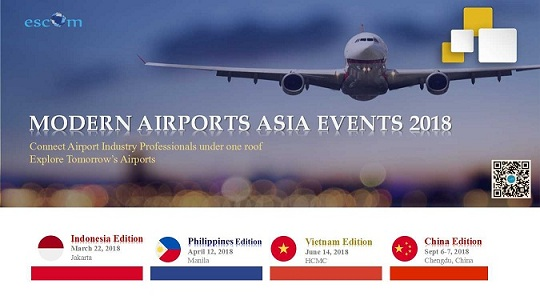 Modern Airport Asia Series Events- 2018 Year Plans *Discount for BAG Members*
