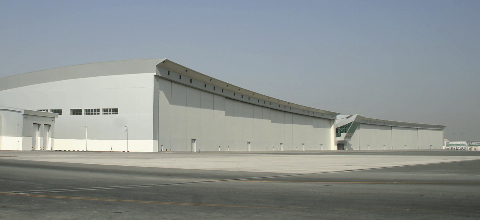 Royal Airwing hangar Dubai